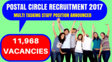Postal Circle Recruitment