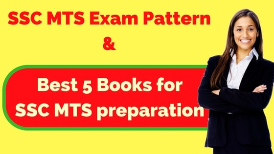SSC MTS Books- Best 5 Books for SSC MTS preparation