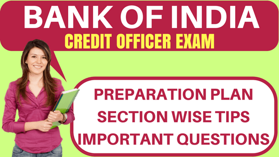 BOI Credit Officer Exam
