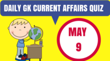 Daily GK Current Affairs Quiz - 9
