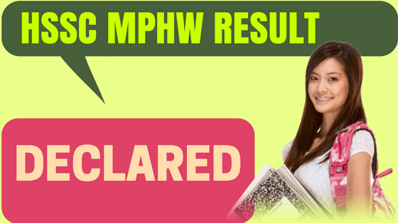 HSSC MPHW Result