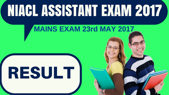 NIACL Assistant Result