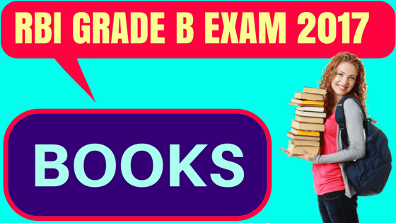 RBI Grade bB Books