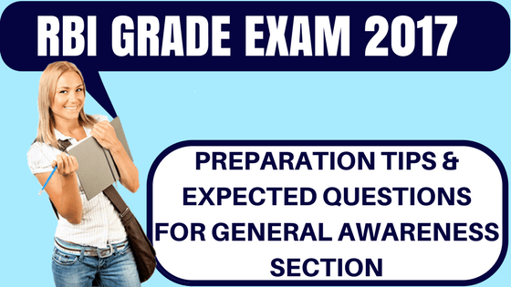 RBI Grade B General Awareness Questions
