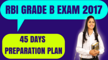 RBI Grade B Preparation Plan