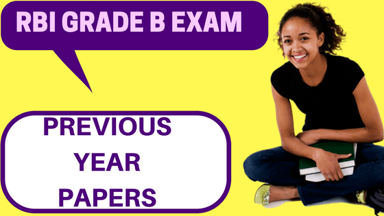 RBI Grade B Previous Year Papers