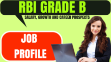 RBI grade B Job Profile