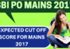 SBI PO Cut off marks