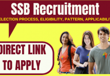 SSB Recruitment