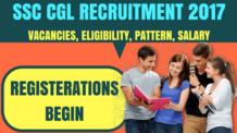 SSC CGL Recruitment Notification