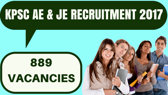 KPSC AE & JE Recruitment