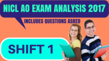 NICL AO Exam Analysis 2017