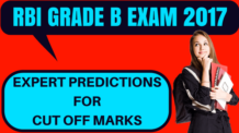 RBI Grade B Cut Off
