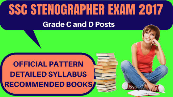 SSC Stenographer Exam 2017