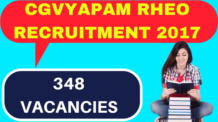 CGVYAPAM RHEO Recruitment 2017