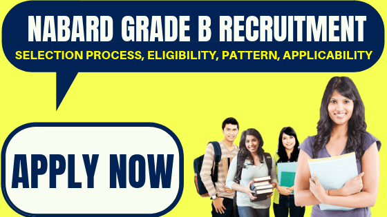 NABARD Grade B Recruitment