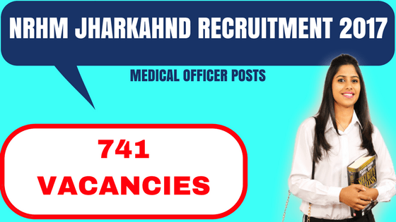 NRHM Jharkhand Recruitment 2017