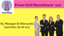 Power Grid Recruitment 2017