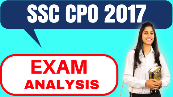 SSC CPO Exam Analysis