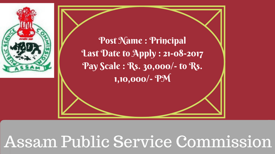 APSC Recruitment 2017