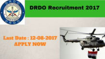DRDO Recruitment 2017