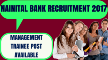 Nainital Bank Recruitment