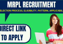 MRPL Recruitment