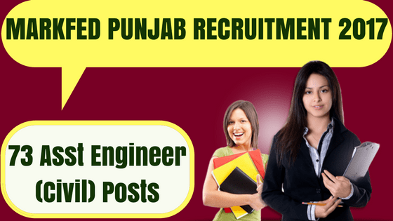 Markfed Punjab Recruitment