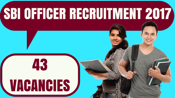 SBI Officier Recruitment