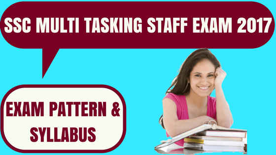 SSC MTS Exam Pattern & Syllabus