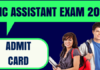 UIIC Assistant Admit Card