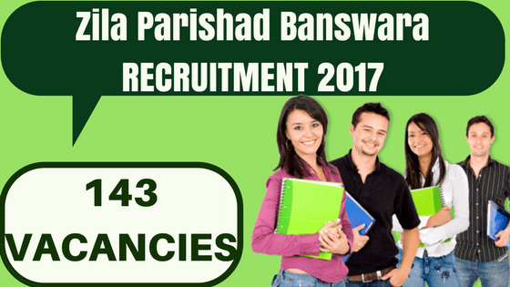 Zila Parishad Banswara Recruitment