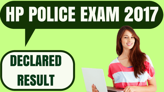 HP Police Result