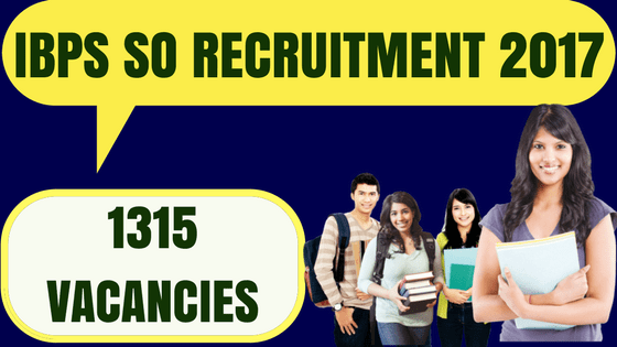 IBPS SO Recruitment