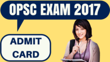 OPSC Admit Card