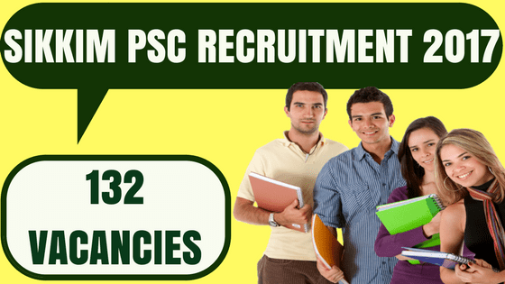 Sikkim PSC Recruitment
