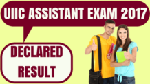 UIIC Assistant Result