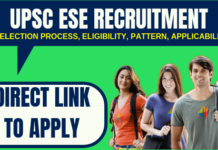 UPSC ESE Recruitment