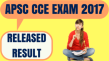 APSC CCE Result