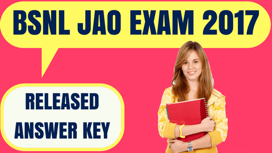 BSNL JAO Answer Key