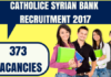 Catholic Syrian Bank Recruitment