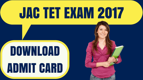 Jharkhand TET Admit Card