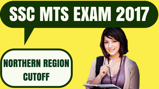 SSC MTS Cutoff Northern Region