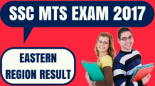 SSC MTS Result Eastern Region