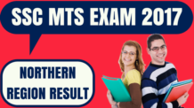 SSC MTS Result Northern Region