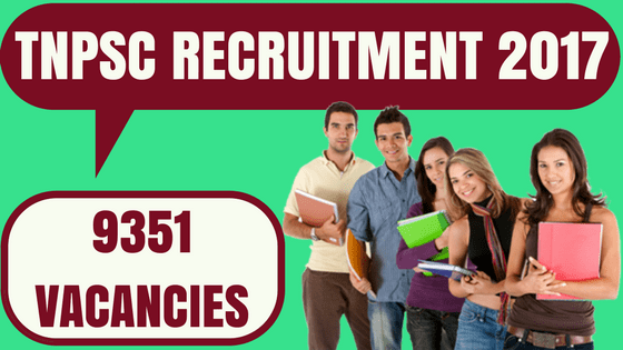 Tamil Nadu PSC Recruitment