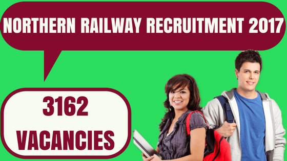 Northern Railway Apprentice Recruitment