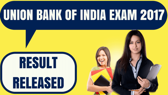 Union Bank of India Result
