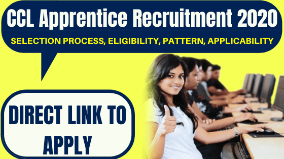CCL Apprentice Recruitment 2020