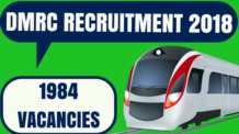 DMRC Recruitment